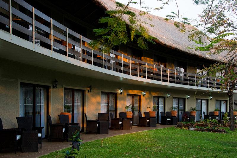 A Zambezi River Lodge