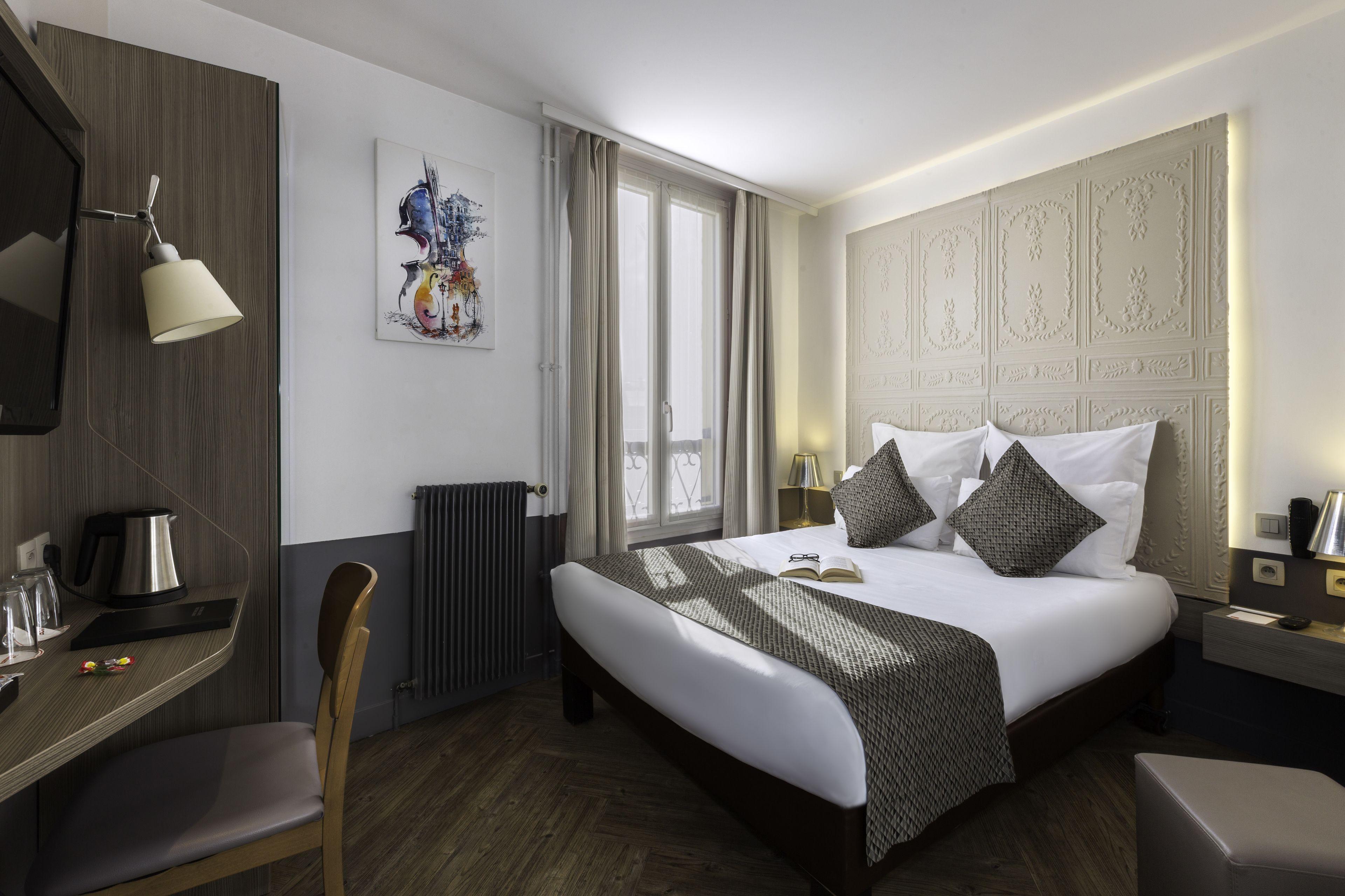 CONTACT HOTEL Alizé Paris Montmartre